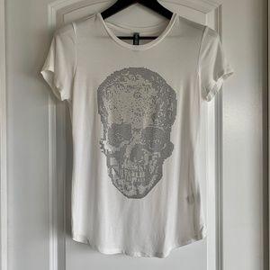 DESIGN LAB Crystal Skull T-Shirt